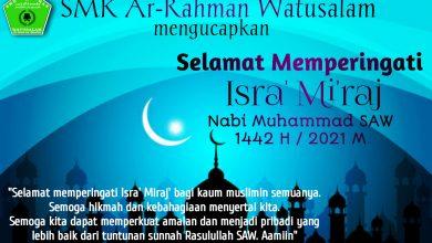 Photo of Peringatan Isra' Mi'Raj Nabi Muhammad SAW